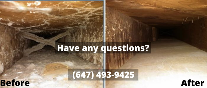 air duct cleaning in Brock