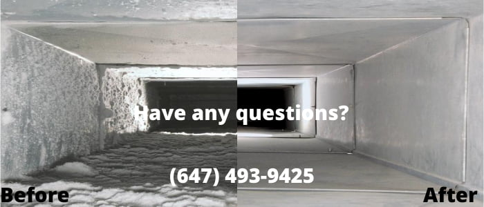 air duct cleaning in Caledon
