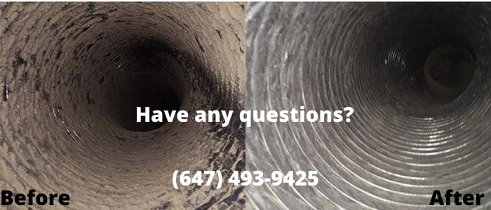 air duct cleaning in Stouffville
