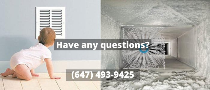 air duct cleaning in Uxbridge