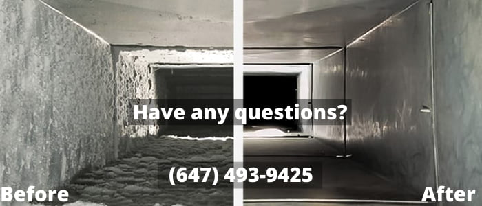 Air duct cleaning services in Toronto