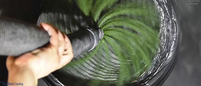 Cleaning of air ducts in Toronto